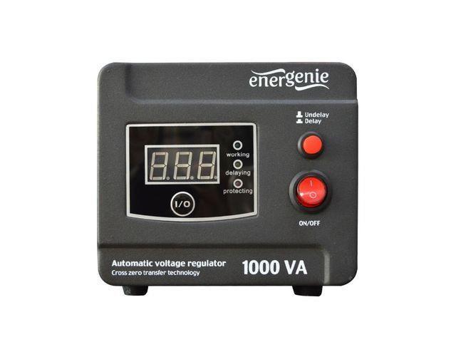 Energenie Automatic AC voltage regulator and stabilizer LED, 220V AC, 1000 VA