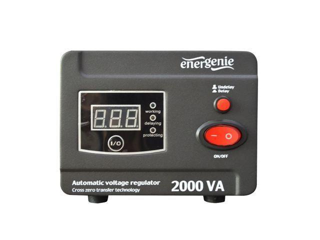 Energenie Automatic AC voltage regulator and stabilizer LED, 220V AC, 2000 VA
