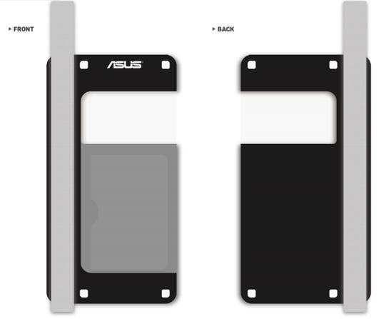 Asus Zen Pouch - vodotěsný obal - černý