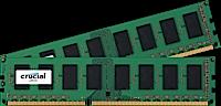4GB DDR3L - 1600 MHz Crucial CL11 UDIMM kit 1.35V/1.5V, 2x2GB