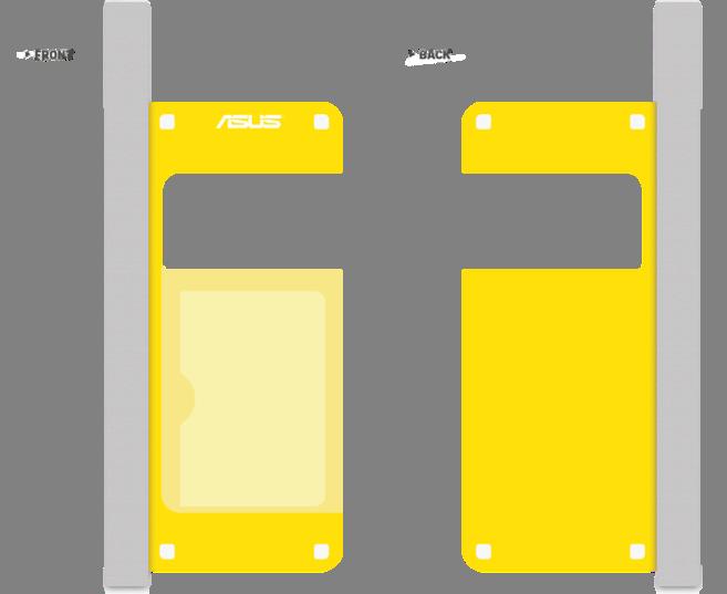 Asus Zen Pouch - vodotěsný obal - žlutý