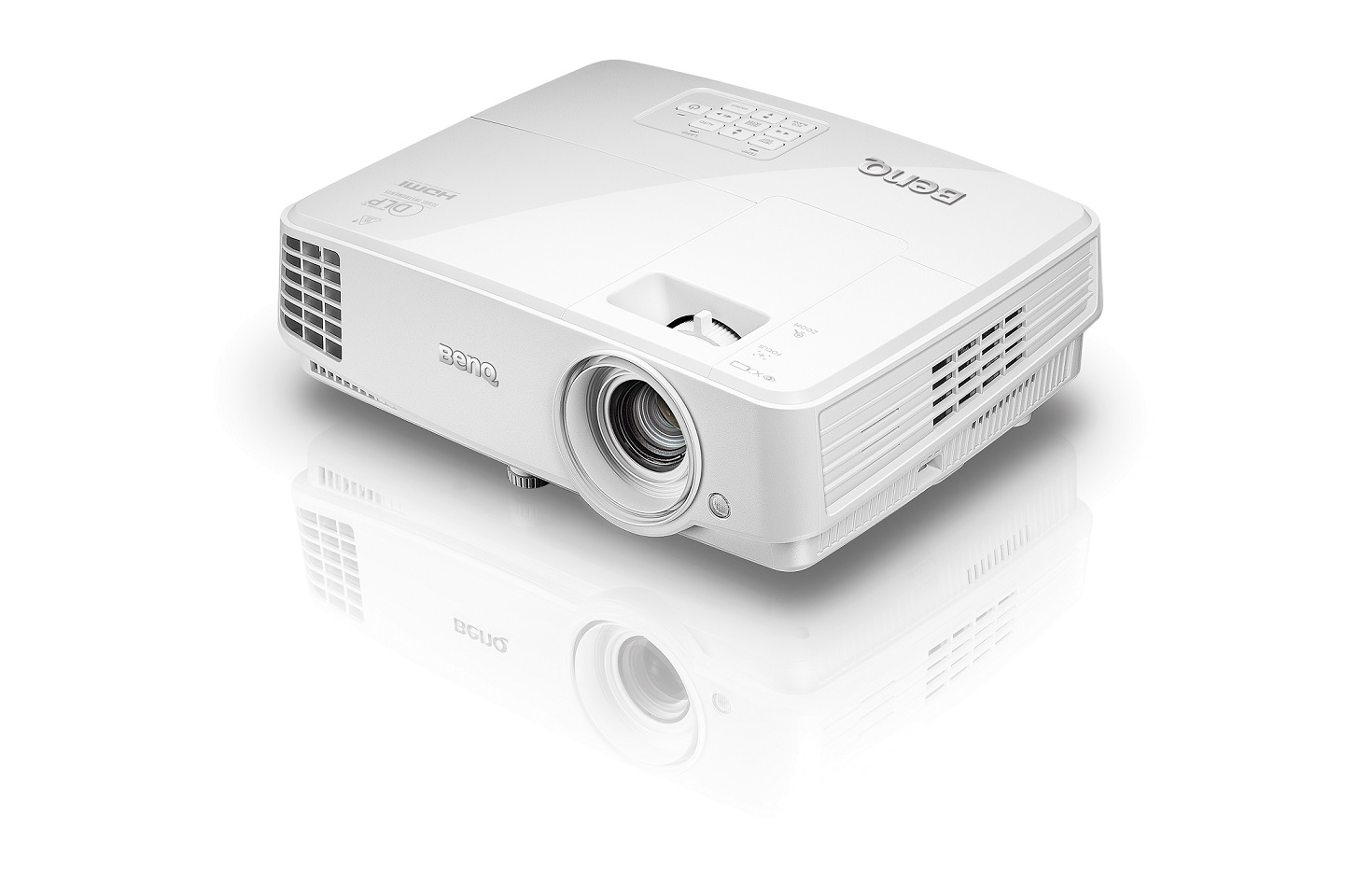 BenQ DLP Projektor MH530 3D via HDMI/1920x1080 FHD/3200 ANSI lm/10000:1/2x D-SUB/HDMI