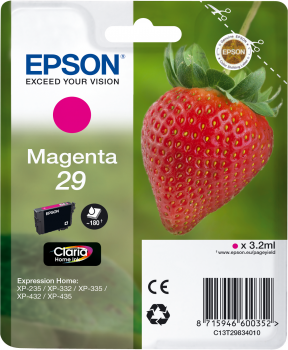 EPSON Singlepack Magenta 29 Claria Home Ink