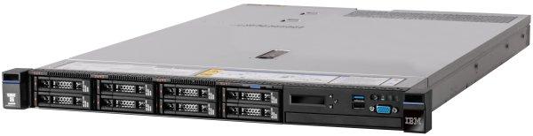 """System x TS x3550M5 Xeon 8C E5-2620v4 85W 2.1GHz/2133MHz/20MB, 1x16GB, 0GB 2,5"""" (8), M5210 (2GB f), FIO Entry, 750W"""