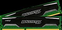 16GB kit DDR3 - 1600 MHz Crucial Ballistix Sport CL9 UDIMM 1.5V, 2x8GB