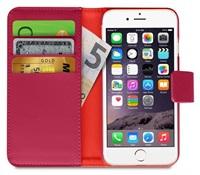 Puro flipové pouzdro s přihrádkou na kartu a zadní kryt pro Apple iPhone 6/6s, růžová