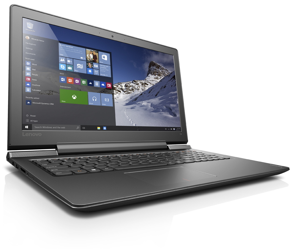 "Lenovo IdeaPad 700-15ISK i7-6700HQ 3,50GHz/16GB/SSD 128GB+1TB HDD/15,6"" FHD/IPS/AG/GeForce 4GB/WIN10 černá 80RU008TCK"