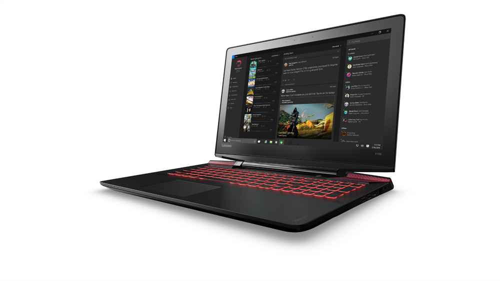"Lenovo Y700 i7-6700HQ 3,50GHz/16GB/256GB SSD+1TB/17,3"" FHD/IPS/AG/GeForce 4GB/WIN10 černá 80Q00078CK"