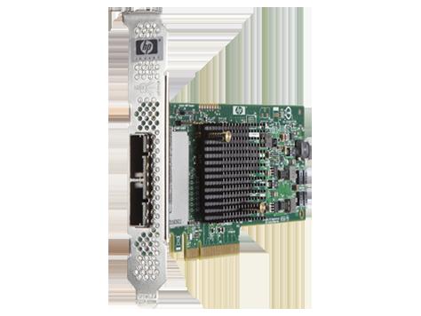 HP H221 PCIe 3.0 SAS Host Bus Adapter (2X4 external ports) 729552-B21 HP RENEW