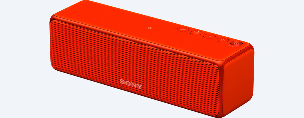 SONY SRS-HG1 Stylový, kompaktní bezdrátový reproduktor se zvukem s vysokým rozlišením - Red