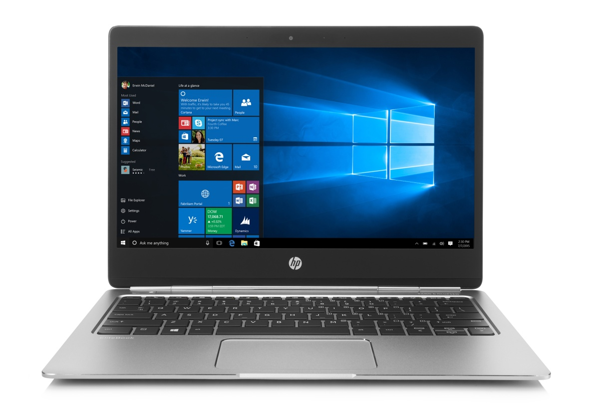 HP Folio G1 m7-6Y75 / 8 GB/ 256 GB / 12,5'' FHD / backlit keyb / Win 10 Pro + Win 7 Pro