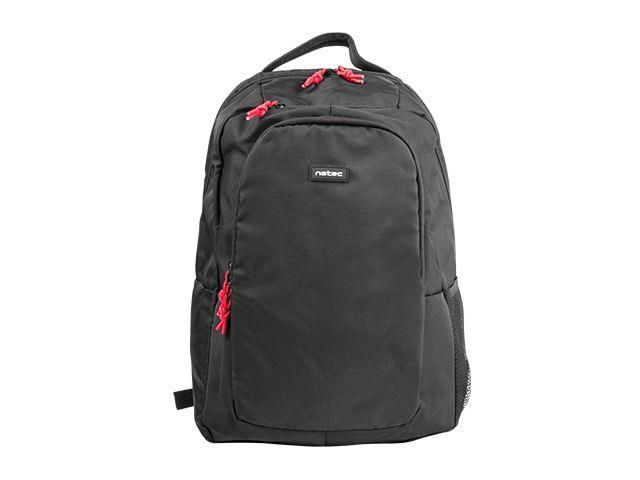 Natec Laptop Backpack WOMBAT 15.6'' Black