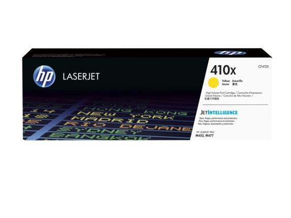 HP 410X Ylw Contract LJ Toner Cartridge
