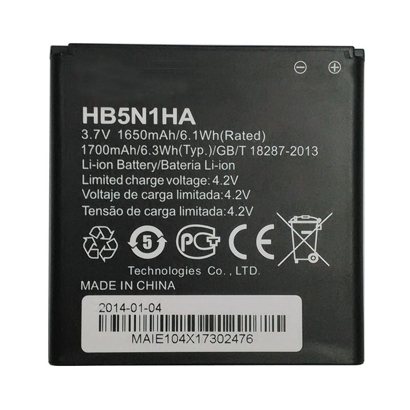 Huawei HB5N1HA Baterie 1650mAh Li-Ion (Bulk)