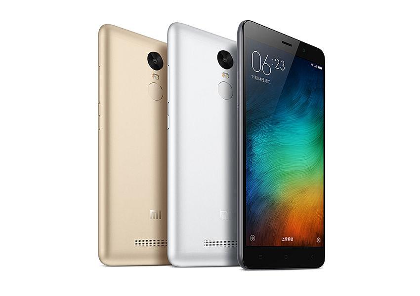 Xiaomi Redmi Note 3 PRO Grey/ 5,5´´ 1920x1080/1,8GHz HC/3GB/32GB/2xSIM/FP/16MPx/4000mAh