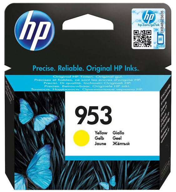 HP F6U14AE 953 Yellow Original Ink Cartridge