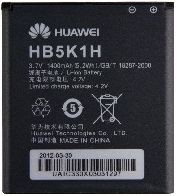 Huawei HB5K1H Baterie 1400mAh Li-Ion (Bulk)