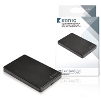 Konig přenosný box pro pevný disk 2,5'' SATA USB 3.0