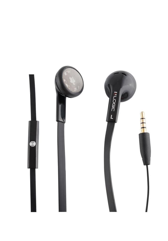 LOGIC sluchátka do uší LH-15 černá