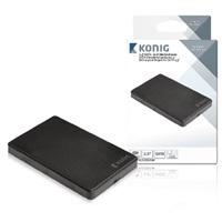 Konig přenosný box pro pevný disk 2.5'' SATA