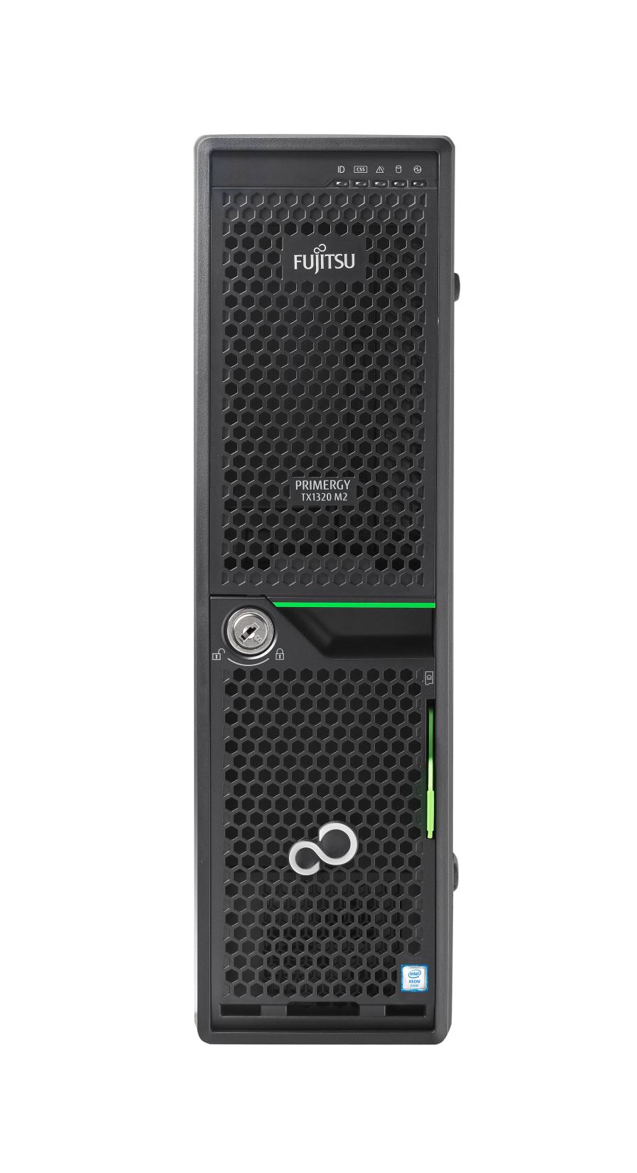 Fujitsu Primergy TX1320M2/SFF/E3-1220v5 4C/4T 3,0GHz/8GB/DRW/bez HDD/Raid 0,1,10/2xGL