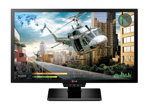 LG LCD 24GM77-B 24'' LED, 1ms, DC5mil, VGA/DVI/HDMI/DP, 1920x1080, HAS, pivot, č