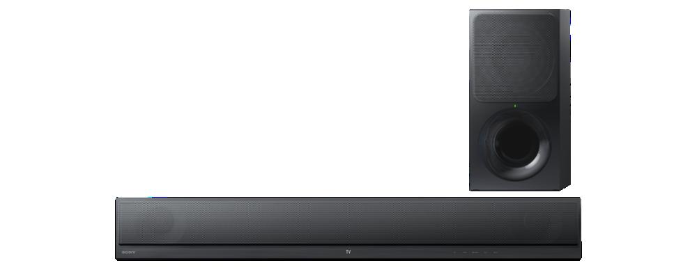 SONY HT-CT390 2.1k zvukový projektor s technologií Bluetooth® - 300W - Black