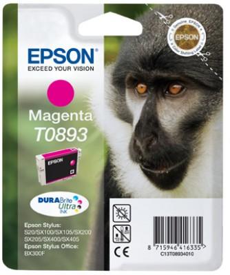 EPSON ink bar Stylus S20/SX100/SX200/SX400 (T0893) - magenta