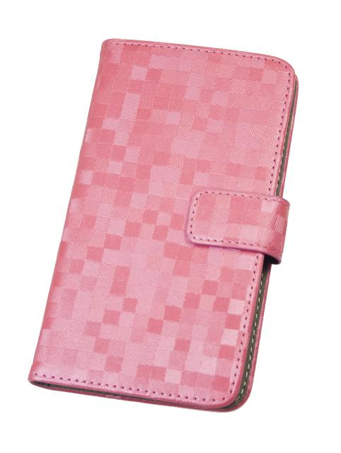 """Aligator Pouzdro BOOK BRILLI vel. L (4,5""""-5"""") pink"""
