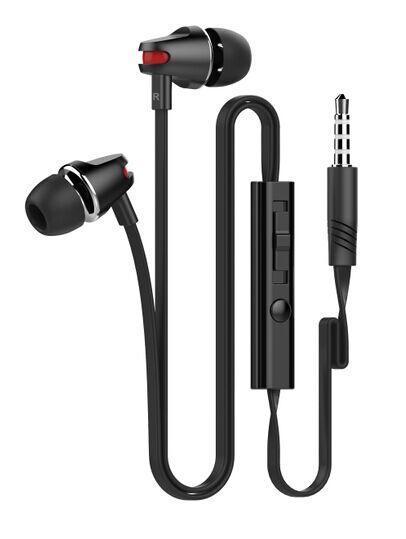 ALIGATOR MHF sluchátka stereo 3.5 jack, black