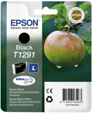 EPSON ink čer Stylus SX425W/SX525WD/BX305F/BX320FW/BX625FWD T129 - black