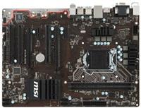 MSI H110 PC MATE, 1151, H110, 1xPCIe 3.0 x16, 2xDDR4, SATAIII, USB 3.1, HDMI, VGA, DVI, ATX
