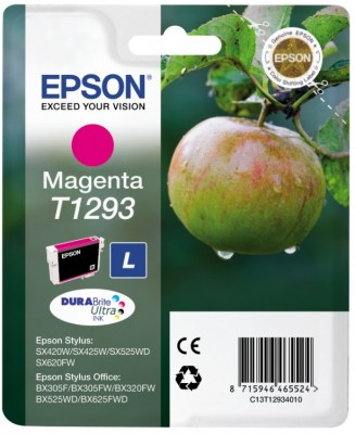 EPSON cartridge T1293 magenta (jablko)