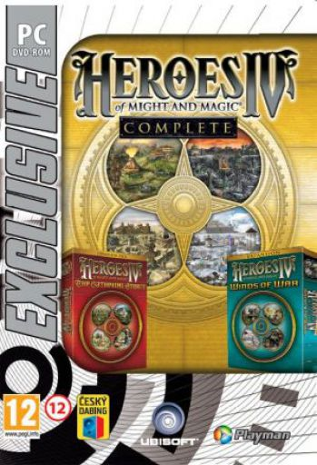 PC CD - Heroes Of Might & Magic 4 Complete