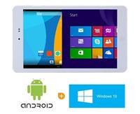 "EUROCASE tablet E-Pad Chuwi Hi8 Pro 8"" bílý, 2/32GB, Windows 10/Android 5.1, DUALBOOT!"