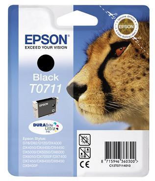 EPSON ink čer Stylus D78/DX4000/DX5000/DX6000/DX7000F (T0711)