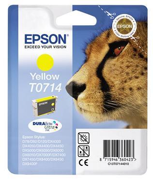 EPSON cartridge T0714 yellow (gepard)