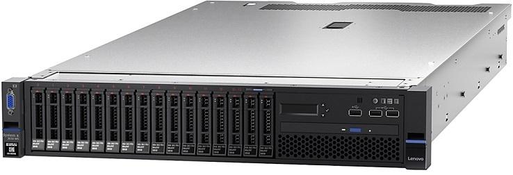 Systemx TS x3650M5 Xeon 8C E5-2620 v4 85W 2.1GHz/2133MHz/20MB, 1x16GB, 2x300GB 10k 2.5in (8), M5210, FIO Entry, 2x550W