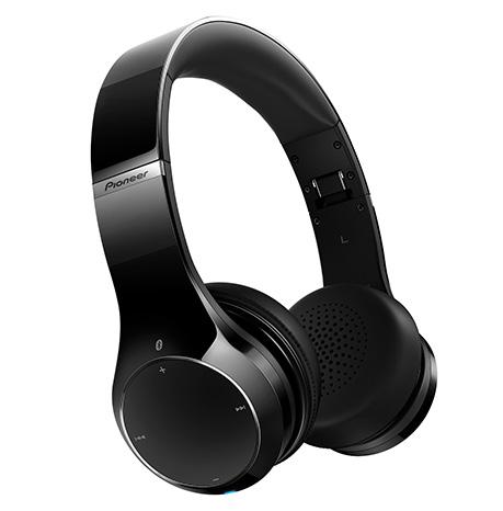 Pioneer sluchátka s BT černá