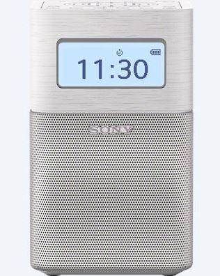 SONY SRF-V1BT Přenosný radiobudík s technologií Bluetooth® - WHITE