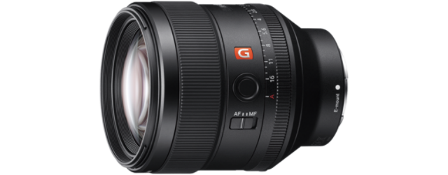 SONY SEL85F14GM FE 85 mm F1,4 GM