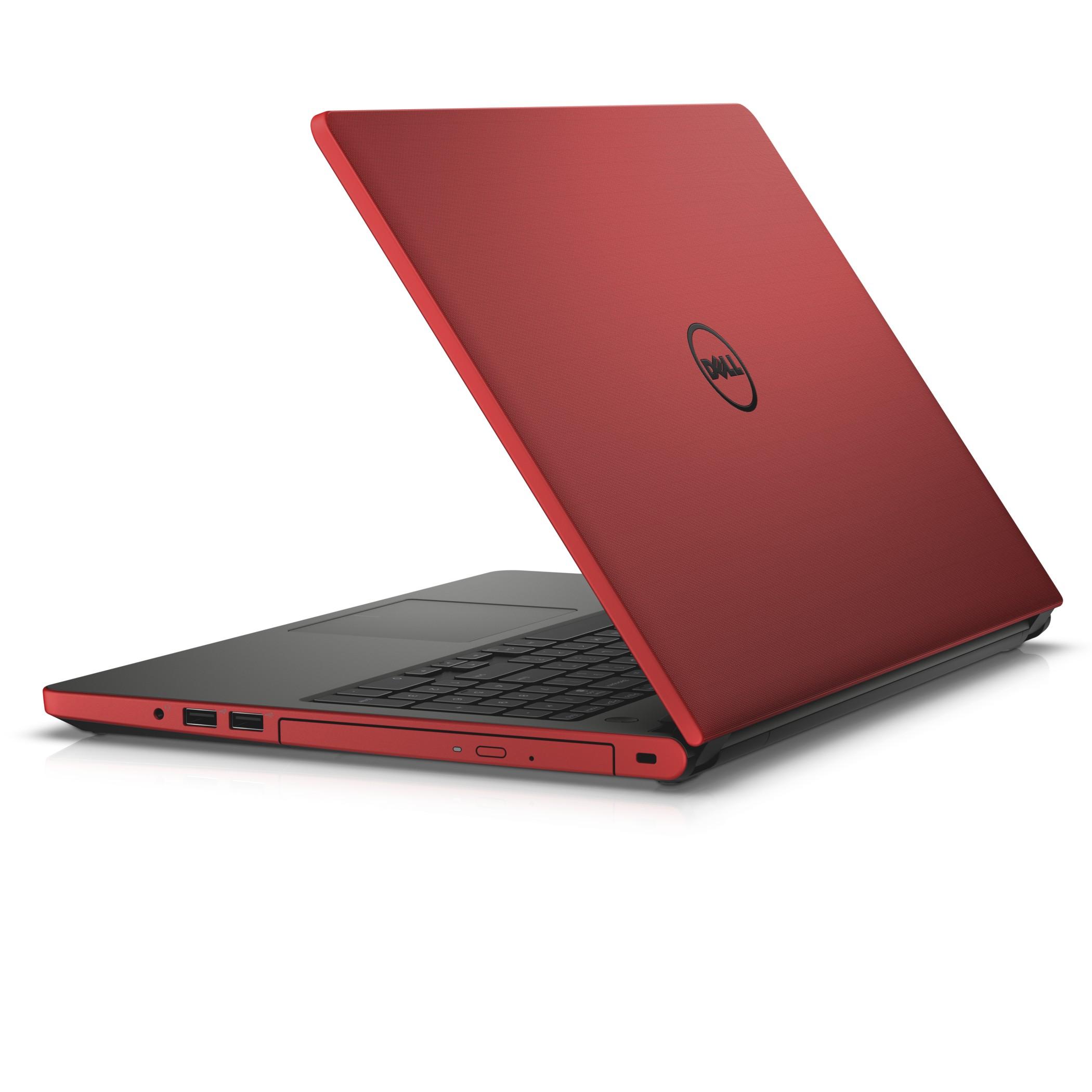 """Dell Inspiron 15 5558 15.6"""" HD i3-5005U/4GB/1TB/920M/HDMI/USB/RJ45/WIFI/BT/MCR/W10/2NBD/Červený"""