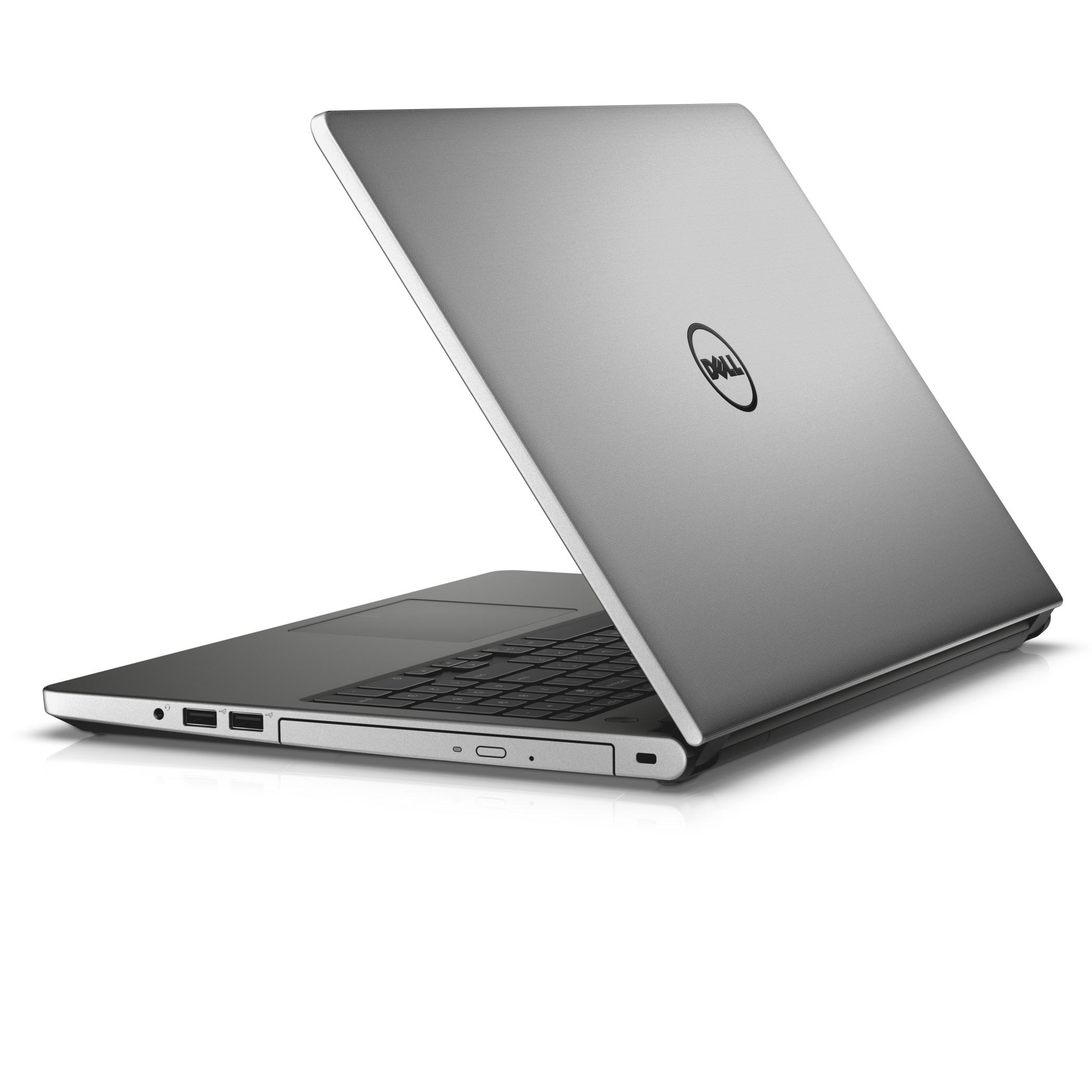 """Dell Inspiron 5558 15"""" HD/i3-5005U/4GB/1TB/HDMI/USB/RJ45/WIFI/BT/MCR/W10(64-bit)/2NBD/Stříbrný"""