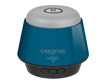 Speaker CREATIVE WOOF,Bluetooth, blue