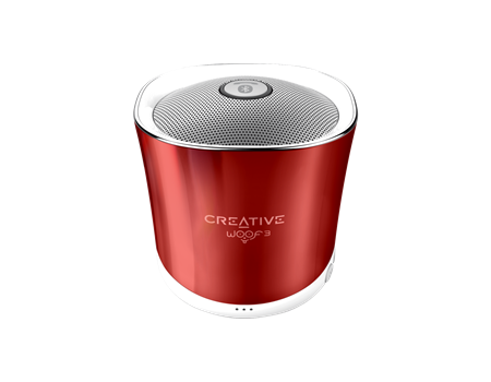 Creative Speaker WOOF3, rouge
