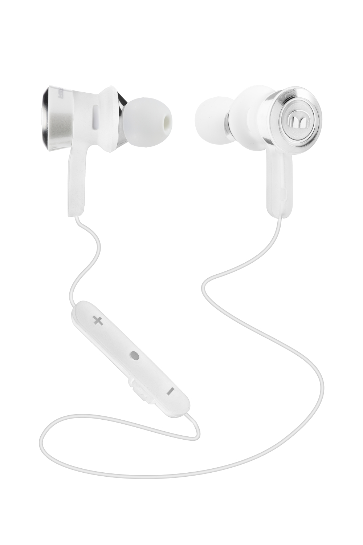 Monster Clarity Bluetooth špuntová sluchátka bílá