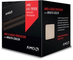 AMD cpu A10-7890K X4 Box FM2+ s tišším chladičem Wraith (4.1GHz, turbo 4.3GHz, 4MB cache, 95W, 4x jádro, 4x vlákno, graf