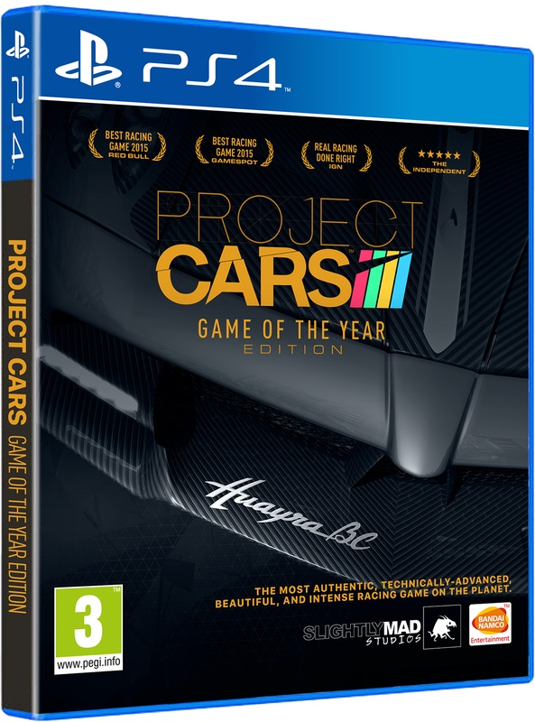 PS4 - Project CARS GOTY