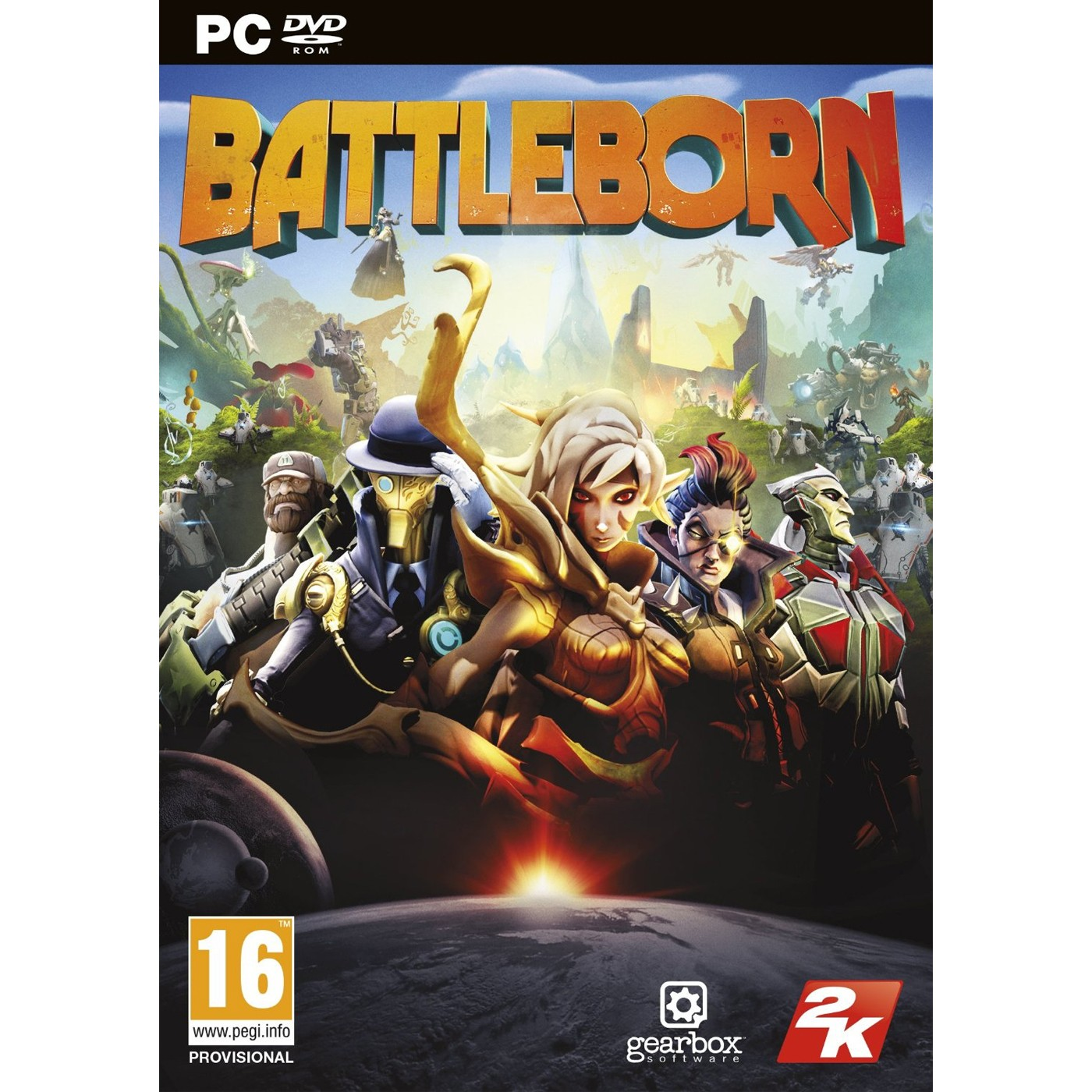 2K Games PC Battleborn
