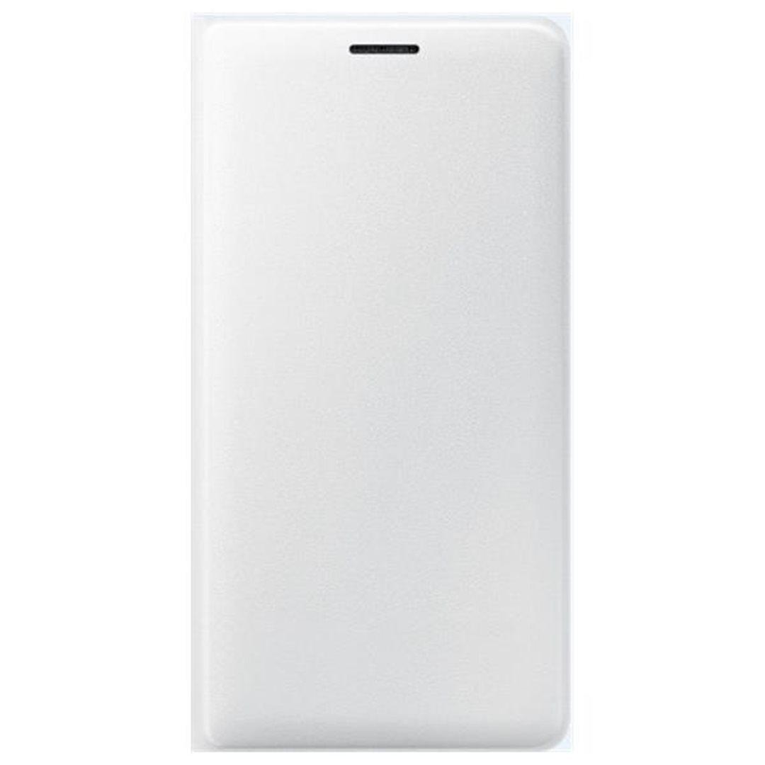 Samsung flip. pouzdro s kapsou pro Galaxy J7 2016, White